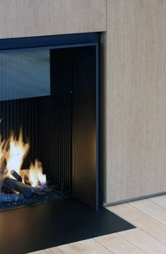 Discover the joy of a good oldfashioned fire with the top 70 best modern fireplace design ideas. Explore luxury builtin features for your home interior. House Design, House, Interior, Home Fireplace, Fireplace Design, Modern, House Interior, Modern Fireplace, Luxury Interior