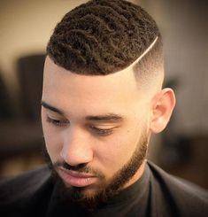 High and Tight Haircuts Black Men Haircuts, Black Men Hairstyles, Stylish Haircuts, Down Hairstyles, Combover Hairstyles, Men's Haircuts, Easy Hairstyles, Short Taper Fade, Taper Fade Haircut