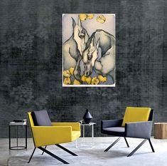 Anna Starowoitowa - artist - Art in House Art Gallery Art Society, Modern House Design, Artist Art, Home Art, Contemporary Art, Art Gallery, Dining Table, Interior Design, Artwork