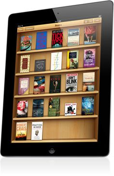 iBooks. Reading on iPad is just like reading a book. But once you tap to turn the first page, you'll see it's nothing like a book. Read one page at a time, or turn iPad on its side and view two pages at once. Tap to read everything full screen, with no distractions, or read in white-on-black nighttime mode. Even alter the look of most books by changing their text size and font.