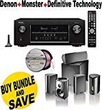 Denon AVR-S910W 7.2 Full 4K Ultra HD Channel Receiver With Bluetooth/HDCP2.2 + Definitive Technology Pro Cinema 800 System Black + Monster - Platinum XP Clear Jacket MKIII 50' Compact Speaker Cable - Clear/Copper Bundle Reviews - http://themunsessiongt.com/denon-avr-s910w-7-2-full-4k-ultra-hd-channel-receiver-with-bluetoothhdcp2-2-definitive-technology-pro-cinema-800-system-black-monster-platinum-xp-clear-jacket-mkiii-50-compact-speaker-cable/