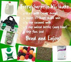 Get your Vi-shape shake mix at www.sassyshakegirl.bodybyvi.com
