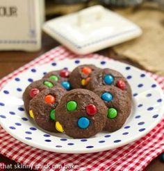 M&M Brownie Cookies Recipe