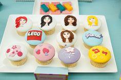 "Photo 2 of Lego Friends / Birthday ""Rania's Birthday"" Lego Friends Birthday, Lego Friends Party, Lego Birthday Party, Birthday Parties, Birthday Ideas, Cupcake Party, Party Cakes, Cupcake Cakes, Lego Girls"