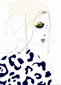 Leigh Viner Draw The Line Illustration, $26