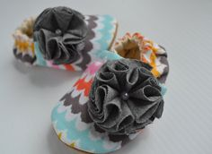 baby girl cloth shoes handmade suede bottoms by fofobaby on Etsy