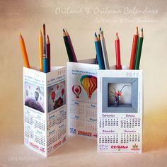 3-D paper calendar - Google Search
