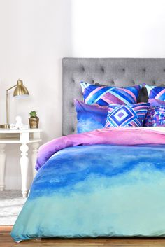 Buy Duvet Cover with The Sound designed by Jacqueline Maldonado. One of many amazing home décor accessories items available at Deny Designs.