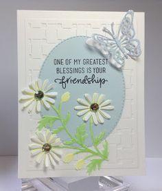 Crafting While I Wait: Dies R Us ~ Daisies, The Friendiest Flower