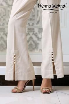 Mix & Match Our Vast Range of Trousers And Salwaars To Compliment That Perfect Outfit Salwar Designs, Blouse Designs, Dress Designs, Moda Fashion, Fashion Pants, Fashion Outfits, Trousers Women, Pants For Women, Clothes For Women