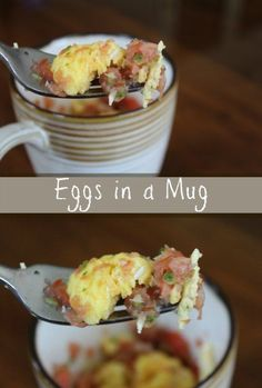 Eggs in a Mug Recipe  Breakfast Ready in Under 2 Minutes from Having Fun Saving & Cooking.
