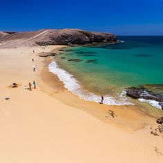 Where To Go In Spain and Spain Tourism. Papagoya beach Lanzarote learn more at our site. Tenerife, Places To Travel, Places To See, Travel Around The World, Around The Worlds, Spain Tourism, Spanish Islands, Beach Vibes, Tourism Website