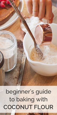 Learn how to use coconut flour so it actually works!