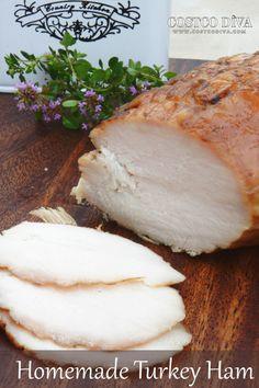 Homemade Turkey Ham