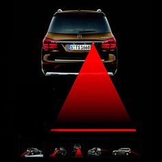 자동차 오토바이 방수 안티 안개 안티 충돌 레이저 레이저 안티 안개 램프 후면 안개 램프 자동차 led 경고등 모든 자동차 모델
