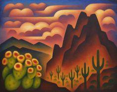 """""""Desert Sunset"""" ~ Sushe Felix"""