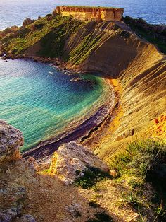 travelthisworld:    Golden Bay ♦ Malta | by Joe Cardona: http://www.europealacarte.co.uk/blog/2011/06/12/malta-beaches/