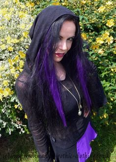 Moonmaiden Gothic Clothing - Lace Hoodie