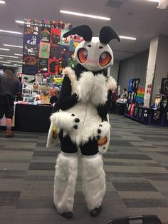 Is this what I think it is? A super adorable insect fursuit?