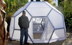 19 best geodesic dome images green houses stoves dome house rh pinterest com