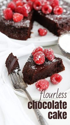 Best Flourless Chocolate Cake, Amazing Chocolate Cake Recipe, Decadent Chocolate Cake, Flourless Chocolate Cakes, Chocolate Desserts, Chocolate Chocolate, Chocolate Delight, Delicious Chocolate, Chocolate Cupcakes