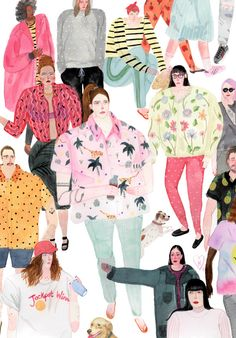 Herikita's gorgeous illustrations just made my day. Love! More of her work…