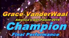 Grace VanderWaal   Singer Impresses With Another Original Tune Clay  America's Got Talent 2016 React