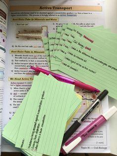 Science Revision, Gcse Science, Science Notes, Life Hacks For School, School Study Tips, School Lessons, Revision Motivation, Study Motivation, Flashcards Revision