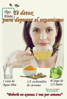 Tè detox para purificar y desinflamar