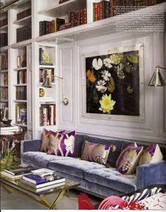 Love the lucite framing.