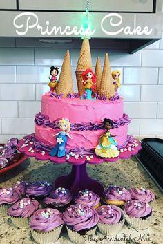 Princess Cake for our #DisneyKids Preschool Playdate