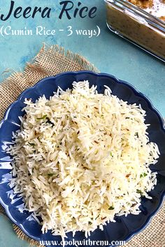 Jeera Rice is one of the most famous and a staple dish from India, that is generally cooked daily and goes well with dal, curries or as a side. #CookwithRenu #Rice #JeeraRice #CuminRice #Easy #Easyrecipe #quickrecipe #kidsfood #toddlerfood #glutenfree #delicious #vegetarian #carbs #lunchbox #recipe #food North Indian Recipes, Indian Food Recipes, Side Dishes Easy, Side Dish Recipes, Vegetarian Lunch, Vegetarian Recipes, Jeera Rice, Bite Size Food, Friend Recipe