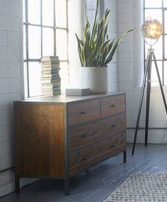 industrial style bedroom furniture chest of drawers