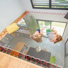 Interior Living Room Design Trends for 2019 - Interior Design Small Space Interior Design, Kids Room Design, Home Interior Design, Kids Bedroom, Bedroom Decor, Indoor Hammock, Catamaran, Dream Rooms, Kid Spaces