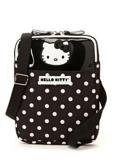HELLO KITTY Hello Kitty Dots Utility Crossbody Bag