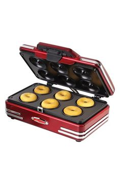 Nostalgia Electrics 'RMDM800 - Retro Series' 50s Style Mini Donut Maker available at #Nordstrom