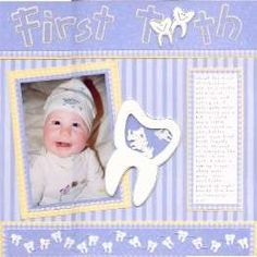 Original first tooth layout