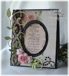 Grace by saintsrule - Cards and Paper Crafts at Splitcoaststampers