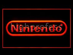 Nintendo LED Ljusskylt Skylt Neon Effekt