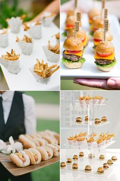 Your guests probably won't remember every little detail about the wedding, but if the food is fun and tasty, that's something they'll never forget! Modern couples are shying away from the traditional sit-down dinner and getting creative with thoughtful creations that are easy-to-pick-up and encourage human interaction. Get inspired by these unconventional wedding food trends …
