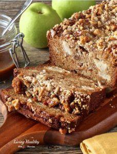 Warm Paleo Caramel Apple Pie Bread Recipe Paleo Kids Breakfast Recipes