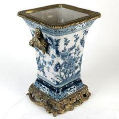 Gilt Bronze Mounted Porcelain Vase