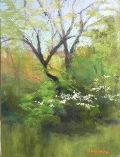 Spring Dogwood #1 #tree #art