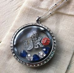 Show your Kentucky pride with Origami Owl.  Go UK!