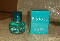 Ralph by Ralph Lauren Eau De Toilette Natural Spray cologne 1 ounce new with box $29.99 on ebay now!
