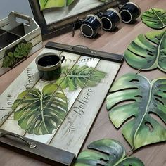 (notitle) - DIY and Crafts Diy Arts And Crafts, Wood Crafts, Diy Crafts, Wood Projects, Projects To Try, Creation Deco, Decoupage Vintage, Pallet Art, Painting On Wood