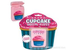 Cupcake Dental Floss, maybe now kids will floss!!