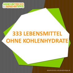 lebensmittel ohne kohlenhydrate (Best Food Diet)