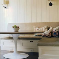 Keukenbank en opruimplek
