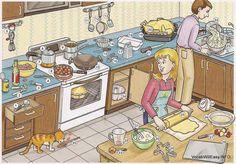 Big Talk - Busy kitchen